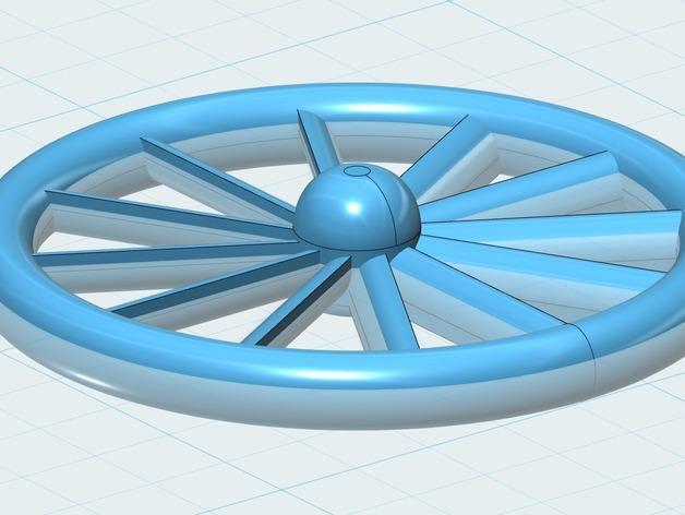 浴室水槽过滤器 3D模型  图1