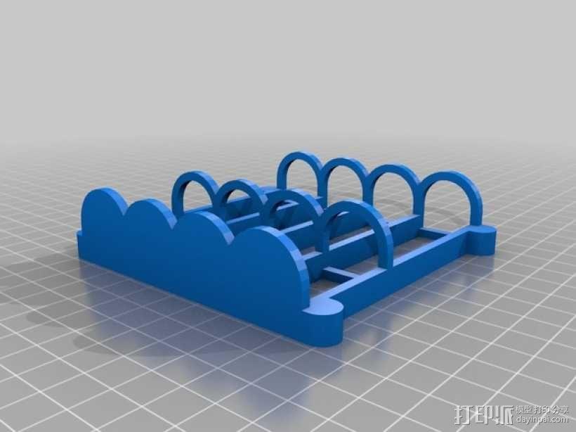 白板笔磁力托架 3D模型  图2
