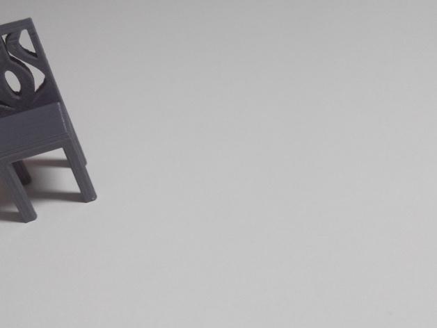 迷你椅子 3D模型  图4