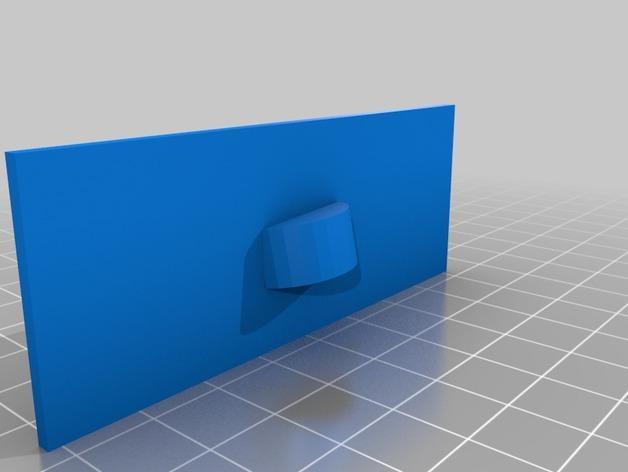 电视便签展示架 3D模型  图3