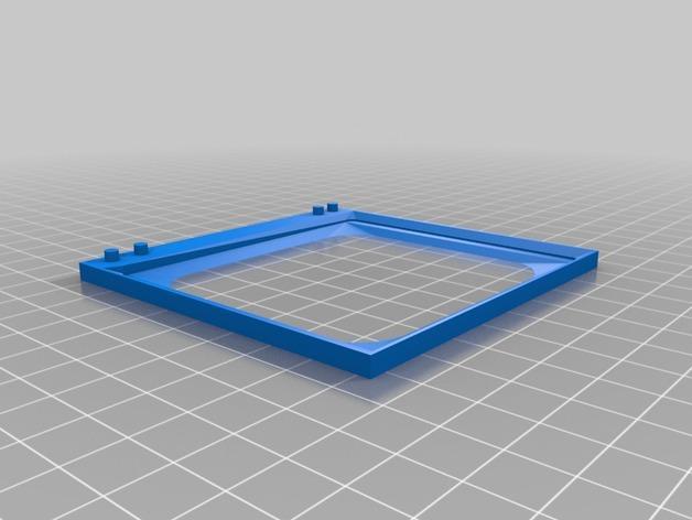 电视便签展示架 3D模型  图4