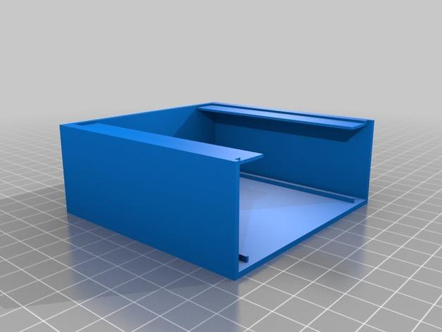 电视便签展示架 3D模型  图6