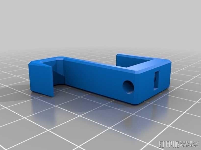 可扩展的电线挂钩 3D模型  图2