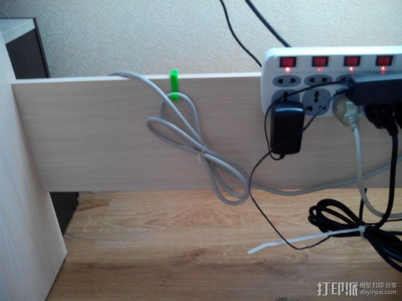 可扩展的电线挂钩 3D模型  图6