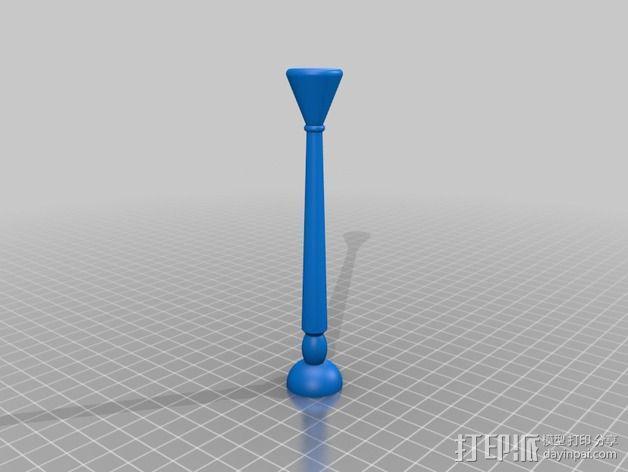 餐具架 3D模型  图3