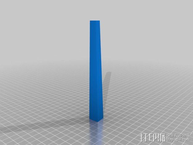 餐具架 3D模型  图2