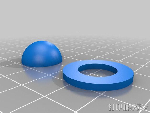 餐具架 3D模型  图4