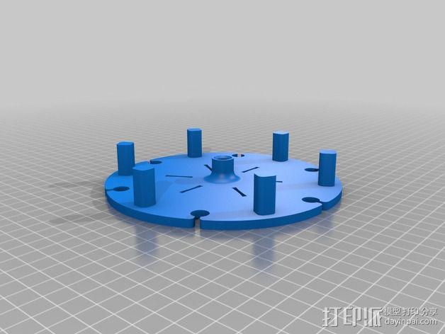 餐具架 3D模型  图5