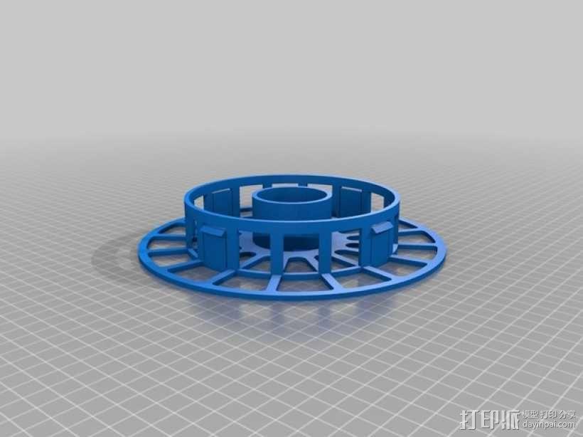 个性化线缆转轴 3D模型  图2