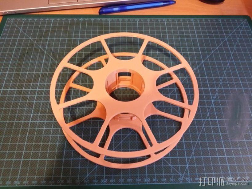个性化线缆转轴 3D模型  图1