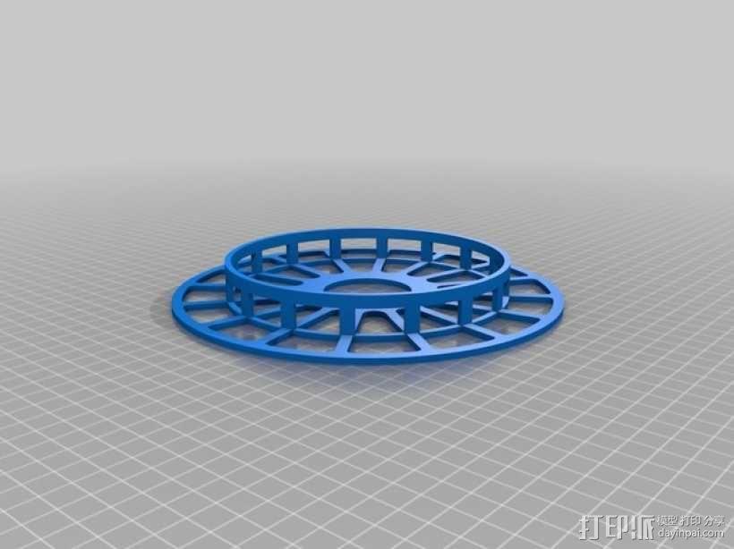 个性化线缆转轴 3D模型  图3