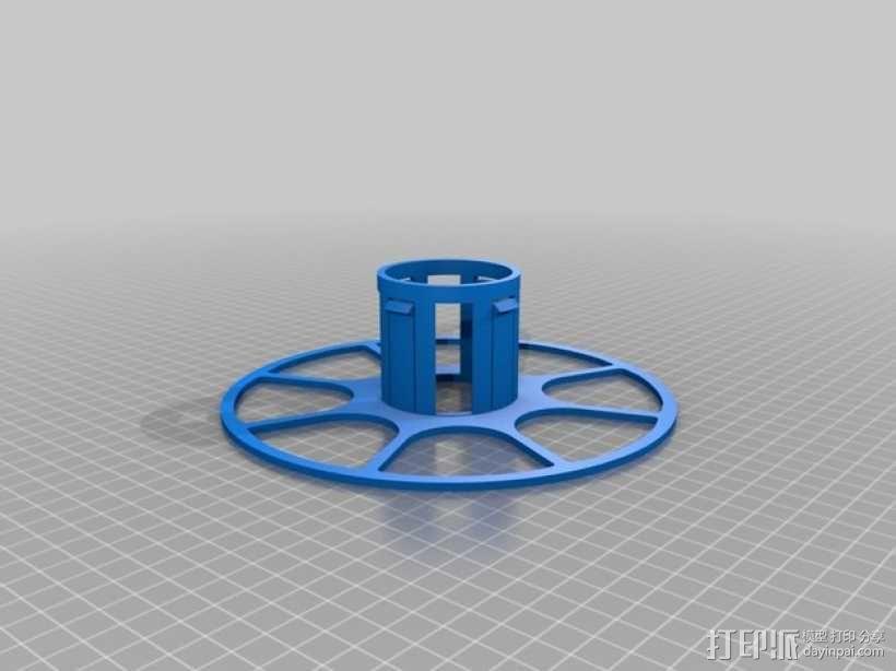 个性化线缆转轴 3D模型  图7