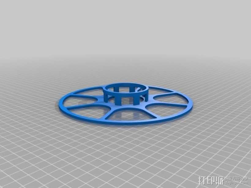 个性化线缆转轴 3D模型  图5