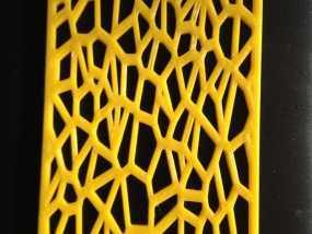 泰森多边形肥皂架 3D模型