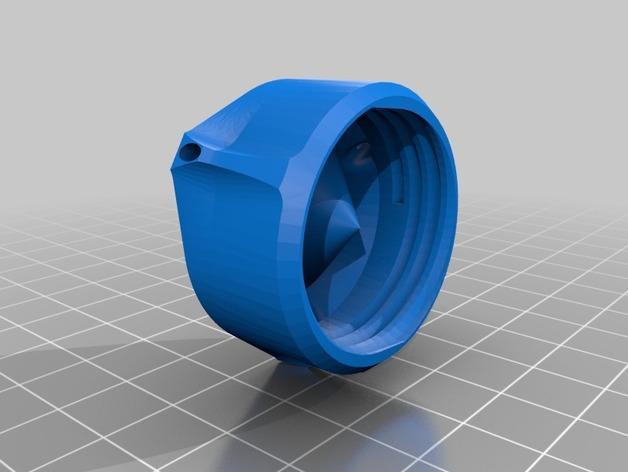 圆底试管站架 3D模型  图5