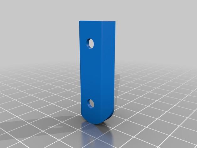 壁挂式搁板支架 3D模型  图5