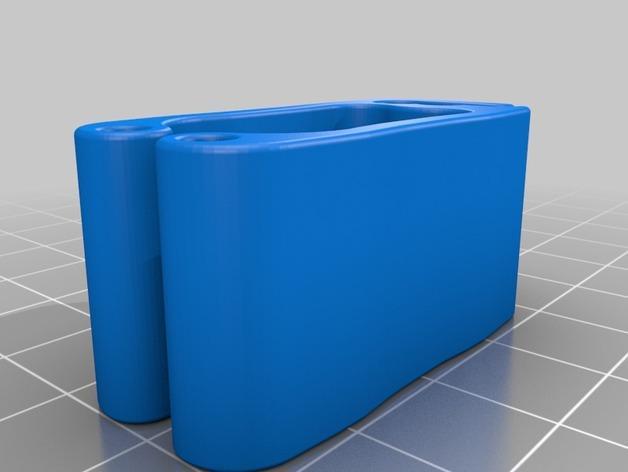 电缆夹  3D模型  图4