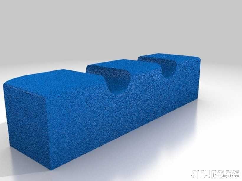 章鱼形筷子托架 3D模型  图10