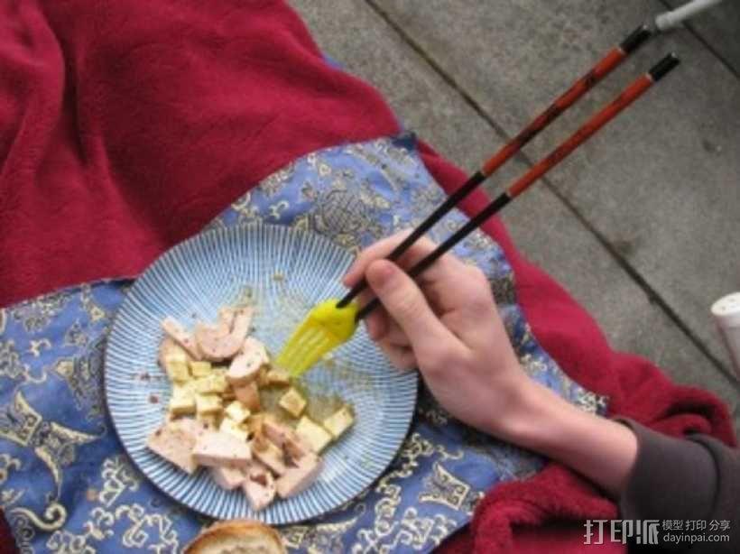 章鱼形筷子托架 3D模型  图25