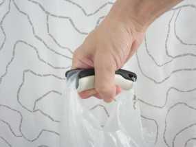 塑料袋手提把手 3D模型