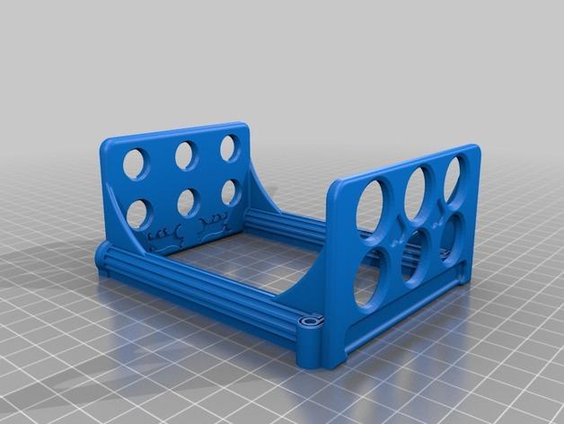 古典牙刷架 3D模型  图2