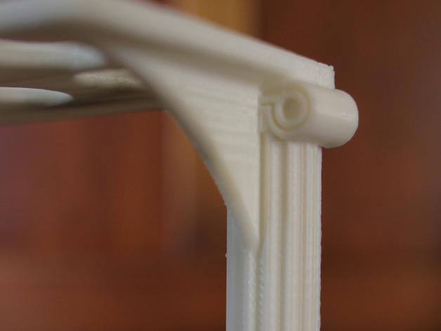 古典牙刷架 3D模型  图4