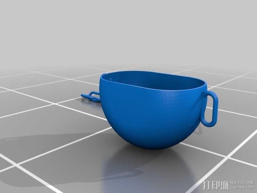 模块化水培系统 3D模型  图4