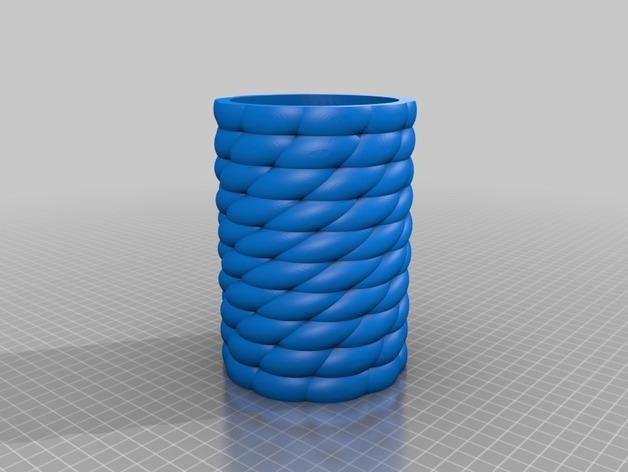 Zortrax花瓶 3D模型  图2