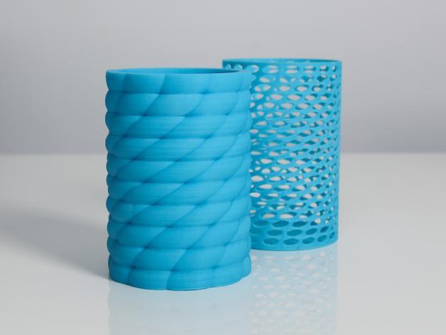 Zortrax花瓶 3D模型  图1