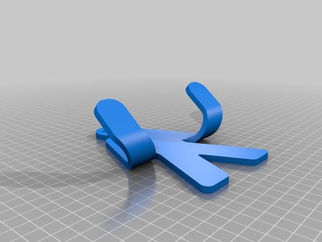 人形毛巾架 3D模型  图11