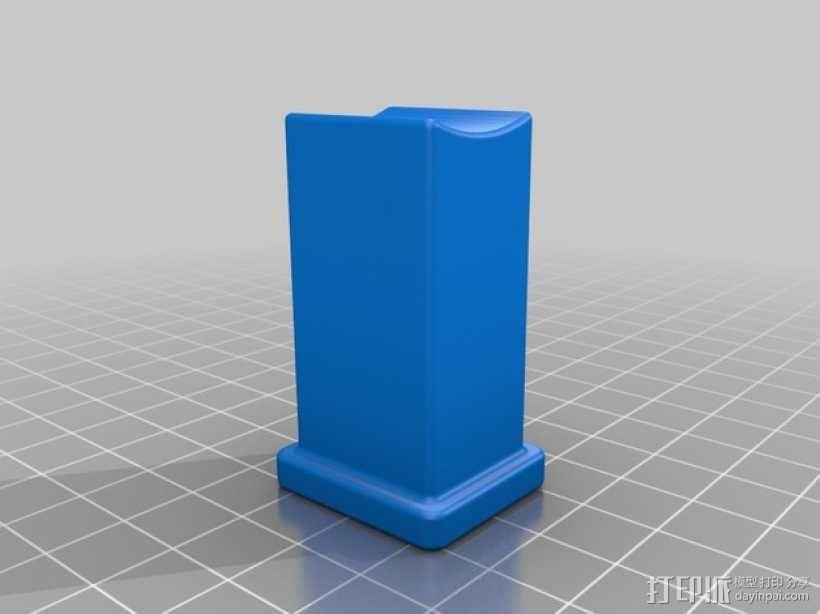 旋转式干酪刨丝器 3D模型  图2