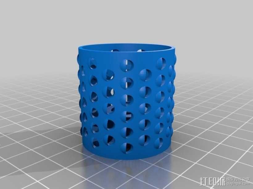 旋转式干酪刨丝器 3D模型  图6
