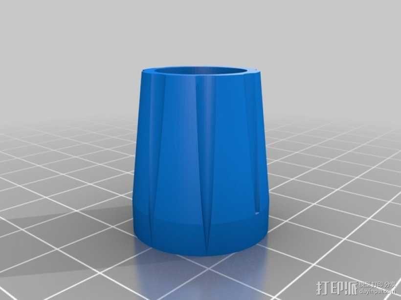 旋转式干酪刨丝器 3D模型  图5