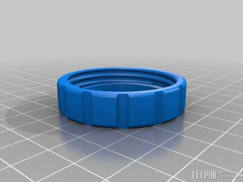 旋转式干酪刨丝器 3D模型  图7