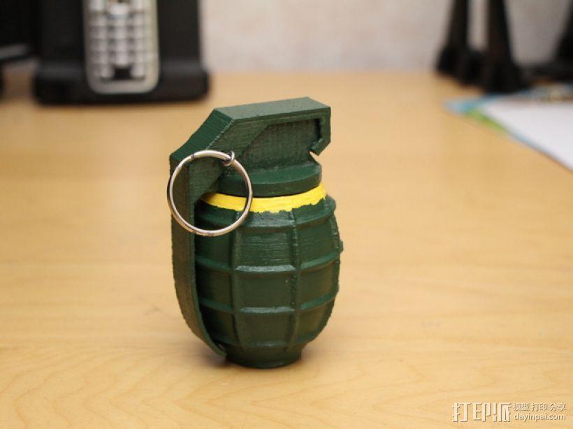 SHGR95手榴弹形容器 3D模型  图1