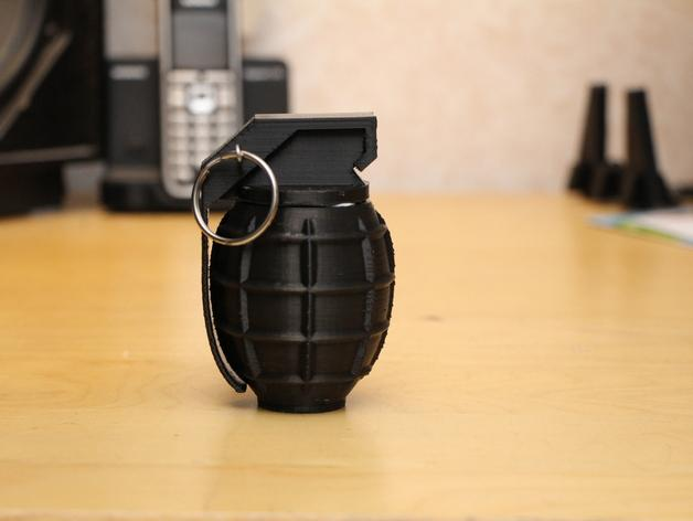 SHGR95手榴弹形容器 3D模型  图2