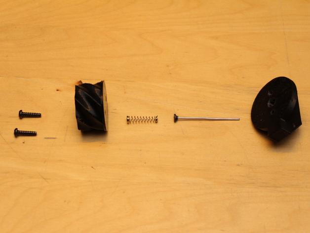 SHGR95手榴弹形容器 3D模型  图5