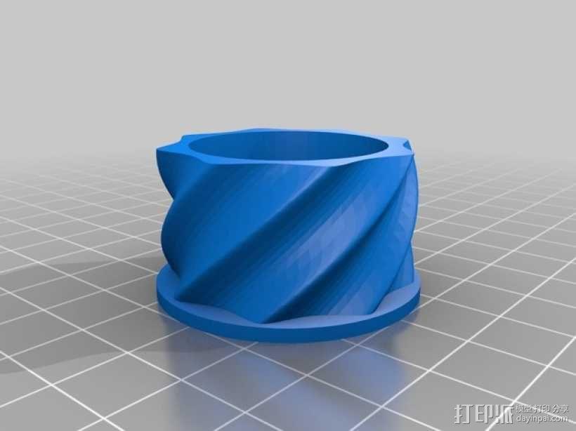 SHGR95手榴弹形容器 3D模型  图10