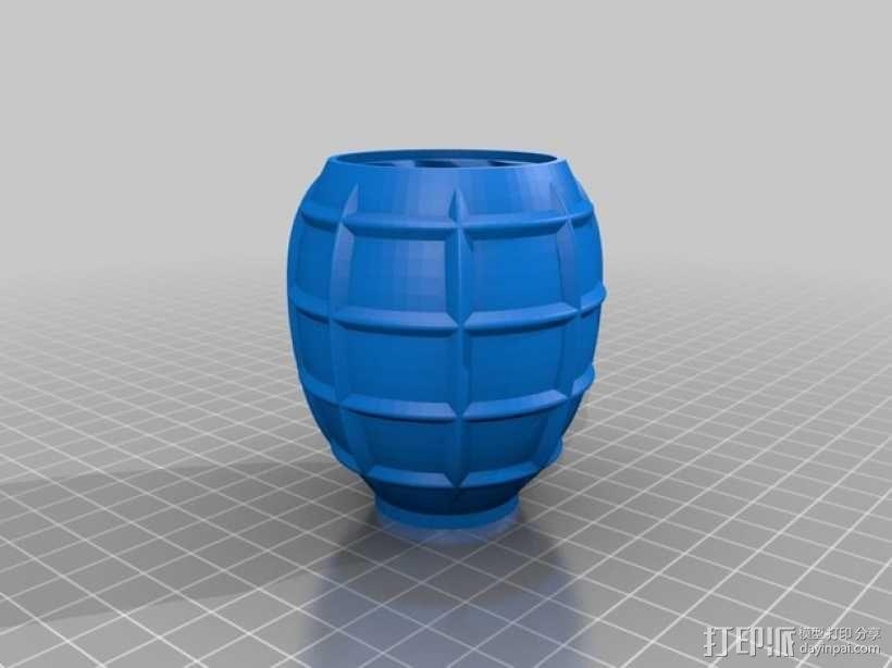 SHGR95手榴弹形容器 3D模型  图11