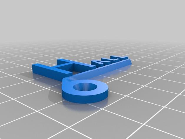 开关板标记#2 3D模型  图5