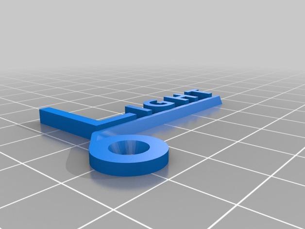开关板标记#2 3D模型  图4