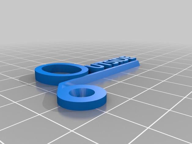 开关板标记#2 3D模型  图6