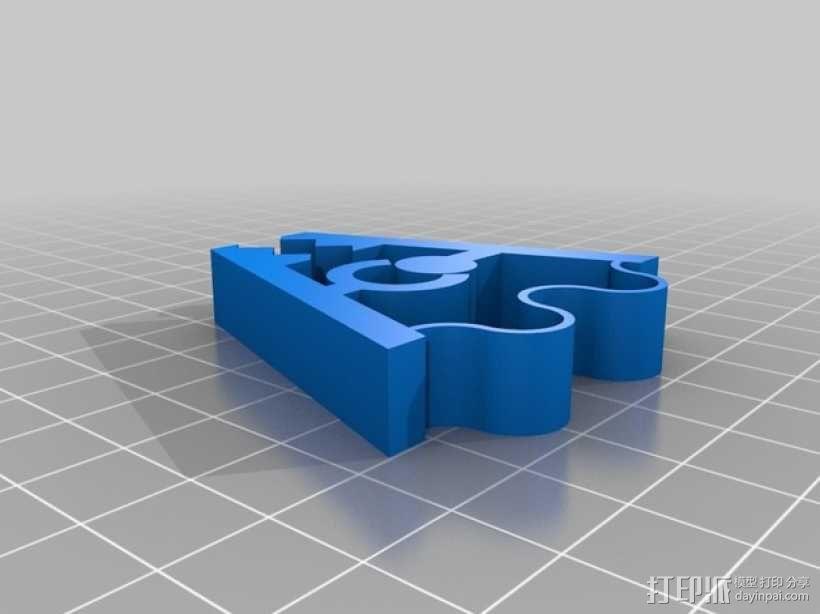 弹簧夹 3D模型  图2