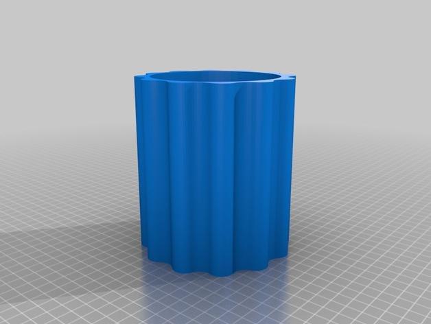 模块化葡萄酒架 3D模型  图2