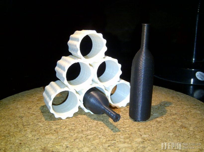模块化葡萄酒架 3D模型  图6