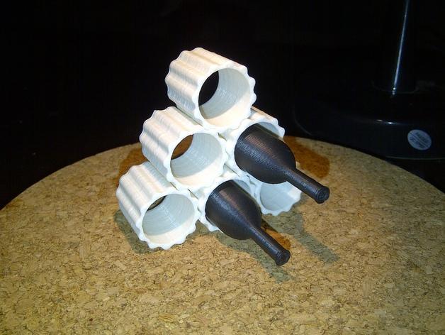 模块化葡萄酒架 3D模型  图5