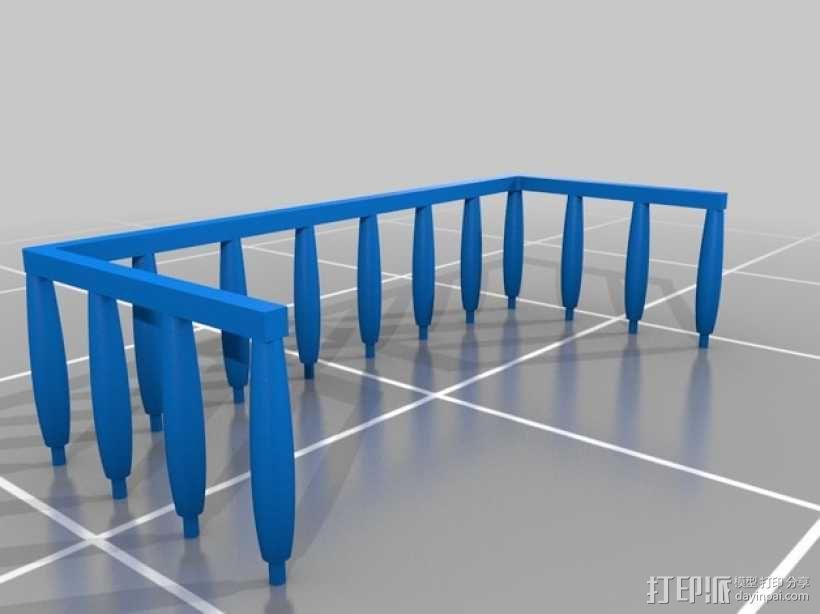 浴室置物架 3D模型  图2