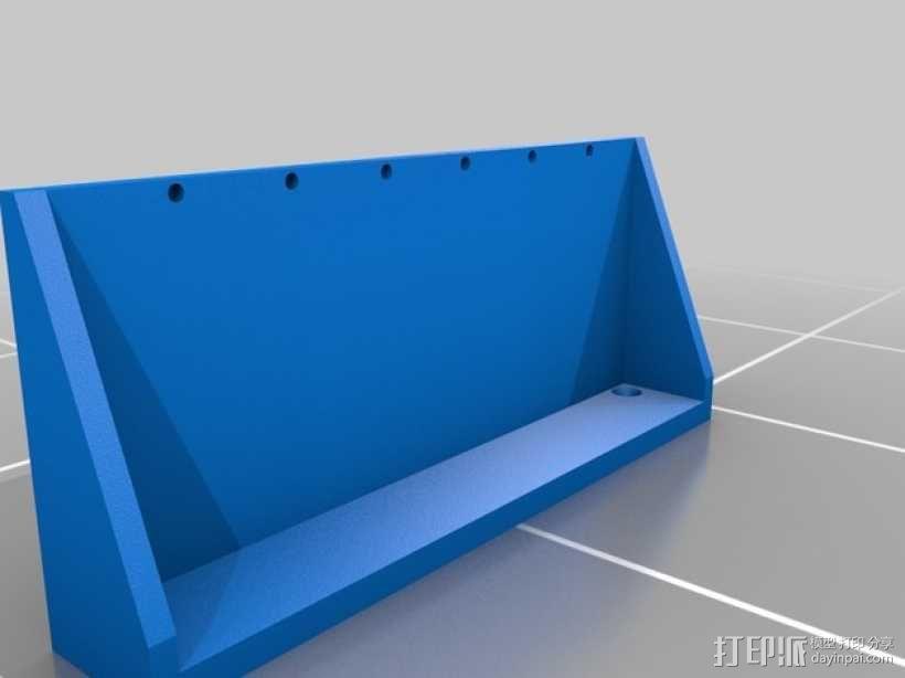 浴室置物架 3D模型  图3