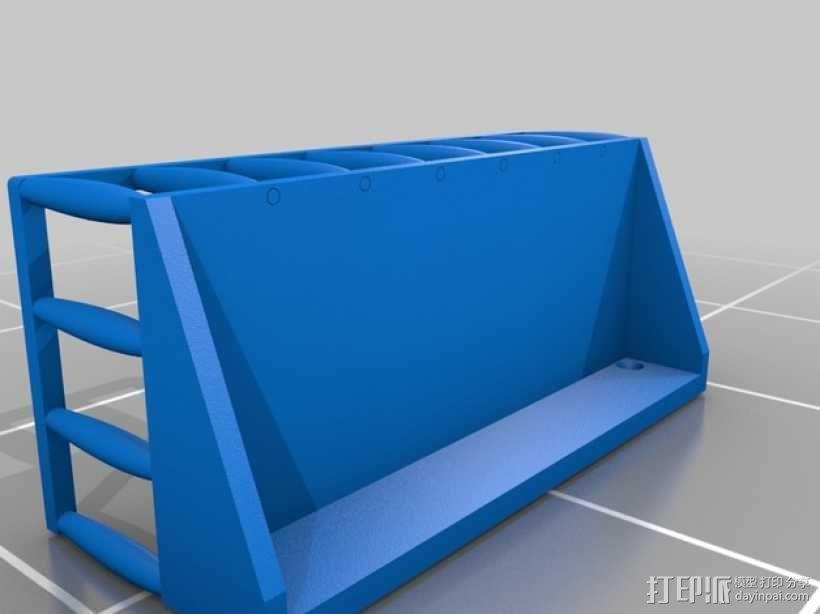 浴室置物架 3D模型  图4