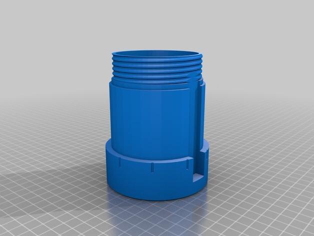 密码锁软饮料罐盒/存钱罐 3D模型  图3